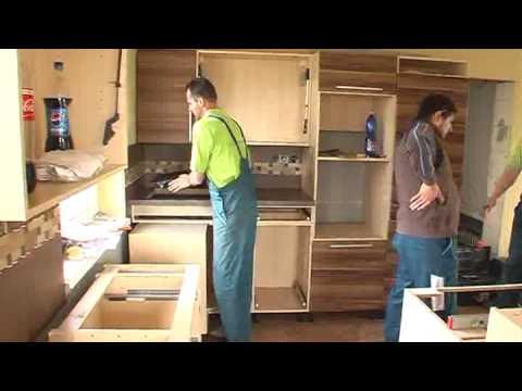 Odborná montáž kuchyne spoločnosti decodom, 1. časť