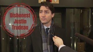 Dishonest Justin Trudeau Andrew Scheer