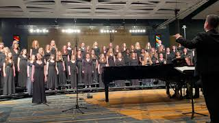 CT All-State Treble Choir 2019 - Ride On, King Jesus (Arr. Moses Hogan)