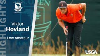 2019 U.S. Open: Viktor Hovland Sets Amateur Scoring Record