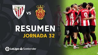 Resumen de Athletic Club vs RCD Mallorca (3-1)