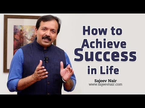 How to Achieve Success in Life | Motivational Videos| Sajeev Nair