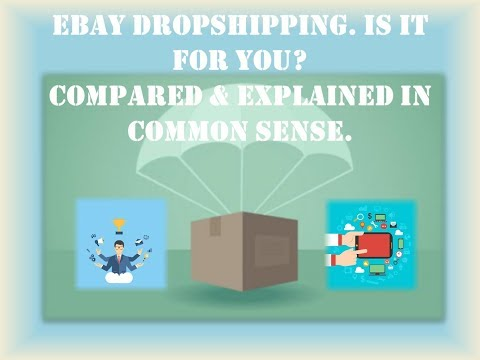 Work From Home Jobs - Ebay Dropshipping. Will it work for you?