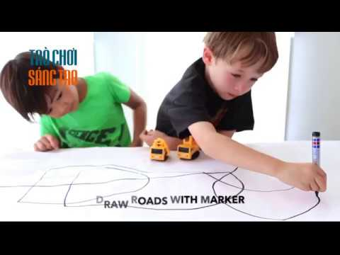 Đồ chơi xe chạy theo nét vẽ thần kỳ Inductive Car dựa trên mắt cảm ứng