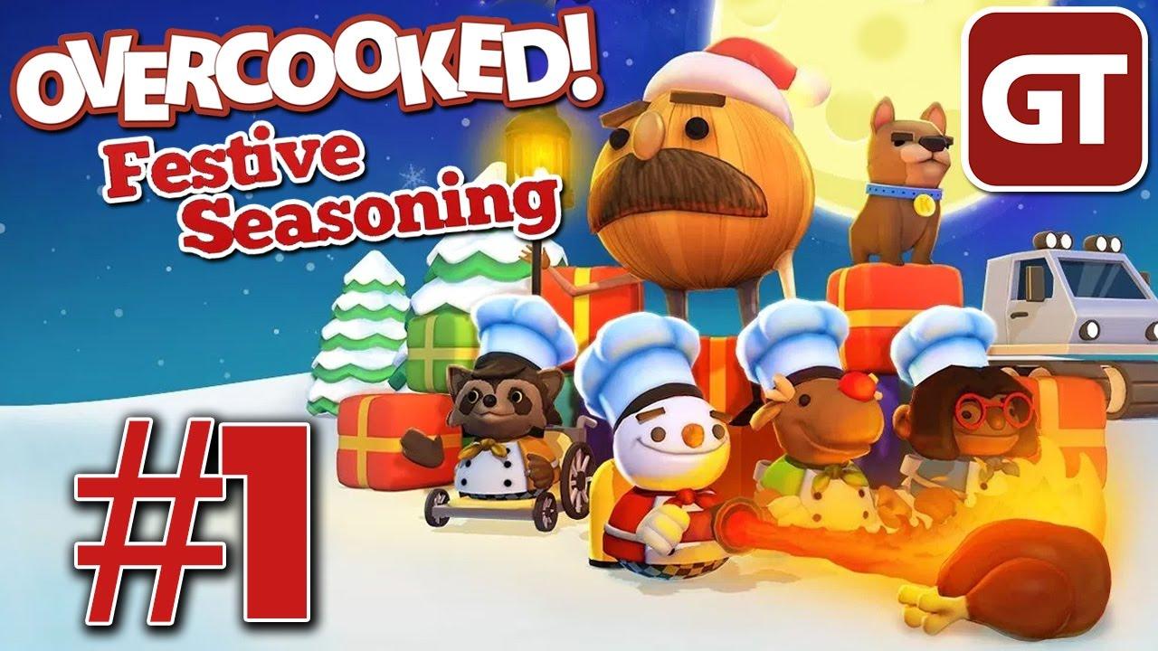 Overcooked Festive Seasoning Dlc 1 Weihnachts Koop Mit Michi Und