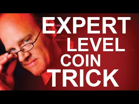 'EXPERT LEVEL' 4-COIN TRICK REVEALED
