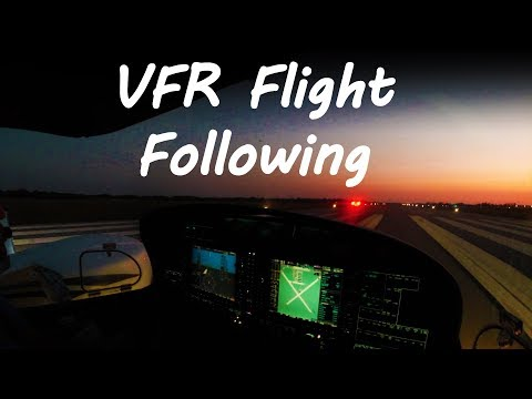 GS: How To Get VFR Flight Following at a Non-towered Airport | While on the Ground
