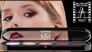 EYESHADOW PALETTE T10 TUTORIAL | Make-Up Atelier Paris