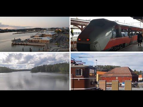 Gothenburg To Oslo By Train - Lakes And Small Cities Between Sweden & Norway