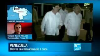 Cuba : Hugo Chavez est arrivé à Cuba pour entamer sa chimiothérapie