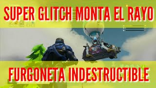 FORTNITE GLITCH RIDES THE LIGHTNING (INDESTRUCTIBLE VAN)(PARCHADO)