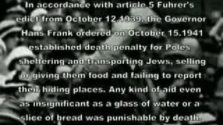 True attitude of Poles towards Jews in WW 2