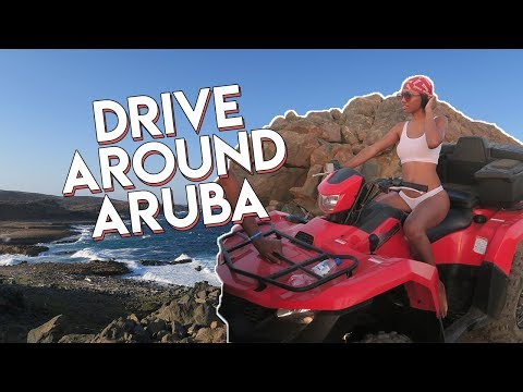 Quad Off Road Around Aruba -- COLLEGE VLOG #71 // Aruba Travel Vlogs