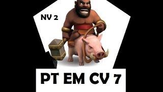 DANDO PT COM CORRDOR NV 2 EM CV 7 CLASH OF CLANS