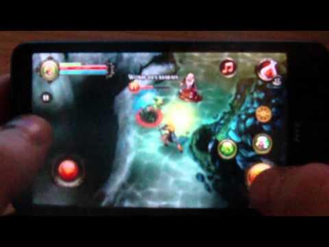Dungeon Hunter 2 Sur HTC HD2 Android . Www.HTC-DEV.net