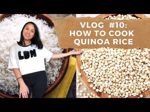 VLOG # 10: How to cook quinoa rice. Quinoa rice vs White rice.
