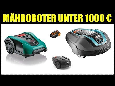 TOP 5 GARTEN MÄHROBOTER UNTER 1000 € ★ Garten Rasenroboter Test ★ Rasenmäher Roboter Husqvarna,...