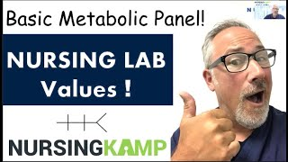 Nursing KAMP BMP Numbers and Lab Values Fishbone Course Video 3