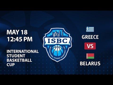 Greece vs Belarus. ISBC, Group Stage