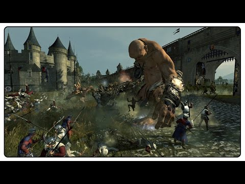 Epic BRETONNIAN SIEGE - Total War:...