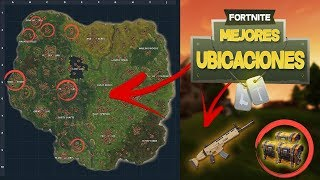 BEST WAY TO GET SCAR IN FORTNITE: Bataille Royale LES MEILLEURS EMPLACEMENTS SUR LA NOUVELLE CARTE