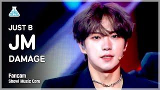 [예능연구소 4K] 저스트비 JM 직캠 'DAMAGE' (JUST B JM FanCam) @Show!MusicCore 210717