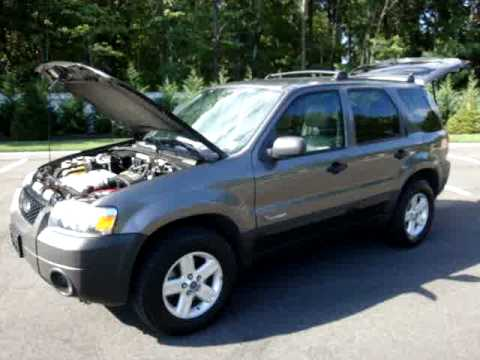 2005 Ford Escape Hybridtownavigationleatherdvdfor Sale Youtube