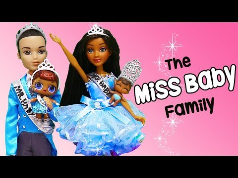 LOL Families ! The Miss Baby Family In The Christmas Parade | Toys And Dolls Pretend Play | SWTAD