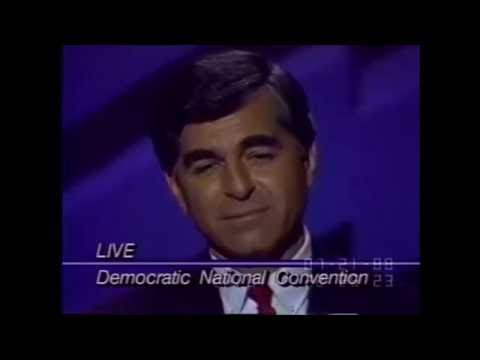 Dukakis Nomination Acceptance Speech 1988 DNC
