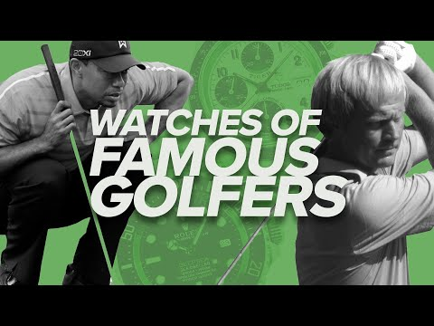 Watches Of Famous Golfers (Tiger Woods, Jack Nicklaus, Phil Mickelson, Gary Player & More)