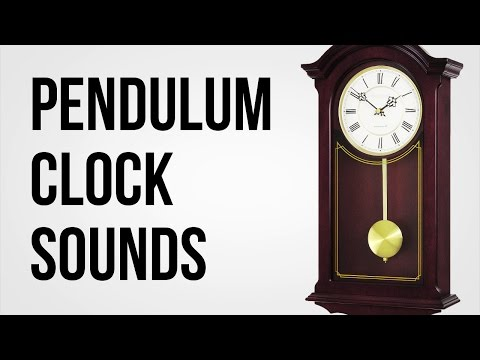 Pendulum Wall Clock - Royalty Free SFX