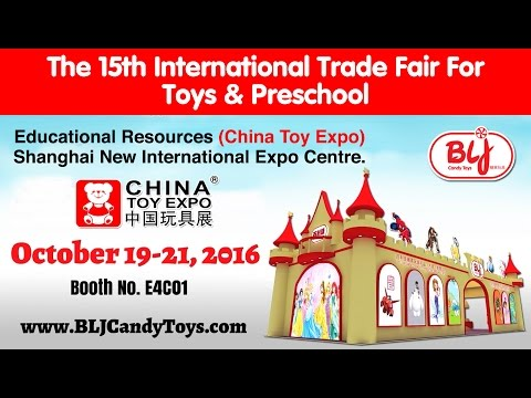 China Shanghai Toy Expo Candy Toys Manufacturer | BLJ Candy Toys