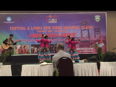 Vocal Group Pawitikra DIY FLS2N 2015 Juara 1 Nasional - Candra Buana (Arr. Singgih Sanjaya)