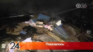 На ул. Декабристов бомжи решили согреться, подпалив старую мебель(, 2016-03-15T09:02:32.000Z)