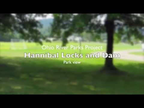OHIO Monroe Hannibal Locks and Dam park view