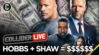 Hobbs & Shaw Dominates With $180 Million Global Launch - Collider Live #190