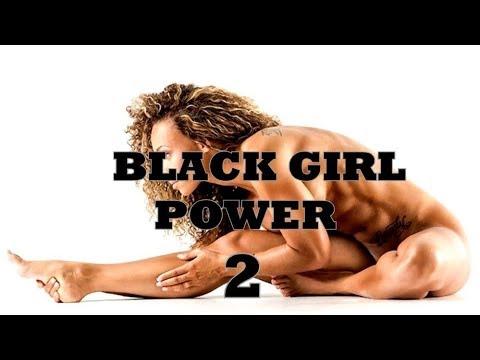 Black Female Fitness Motivation- Black Girl Power 2