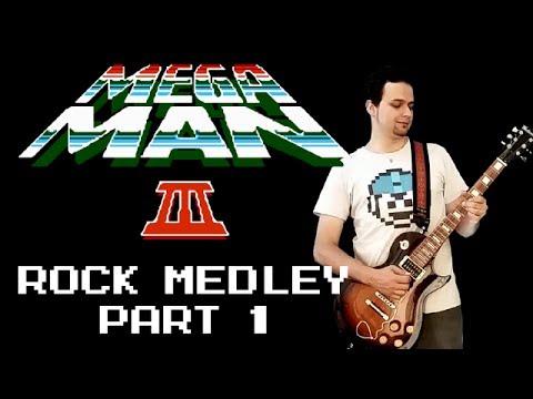 Mega Man 3 Rock medley Rockman 3, part 1  Daniel Araujo  feat R Karashima & C Zolhof