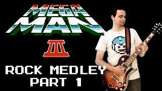 Mega Man 3 Rock medley (Rockman 3), part 1 - Daniel Araujo - feat. Rodrigo Karashima & Cesar Zolhof