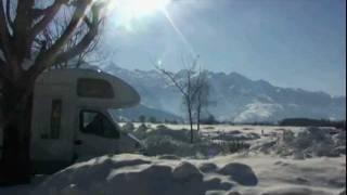 Panoramacamp Zell am See im Winter