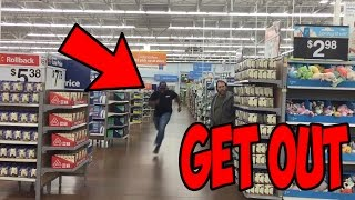 THE GET OUT CHALLENGE IN PUBLIC!!