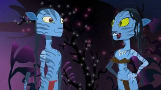 avatar the animated parody