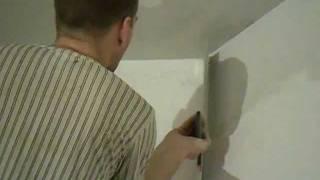 видео Малярные работы – технология покраски потолка