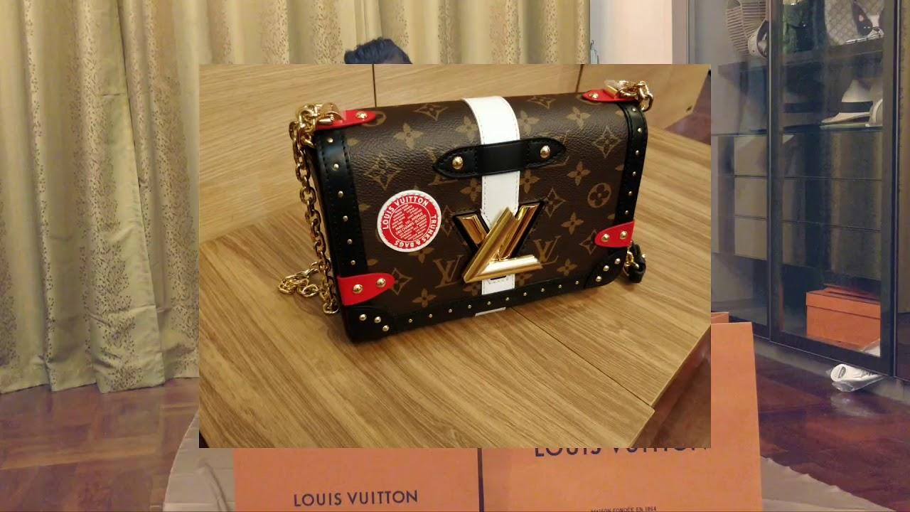 74afb721e4555 รีวิว กระเป๋าLouis Vuitton TWIST MM  ) - YouTube