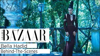 Baixar Bella Hadid: Behind-The-Scenes On Harper's Bazaar Arabia's Cover Shoot