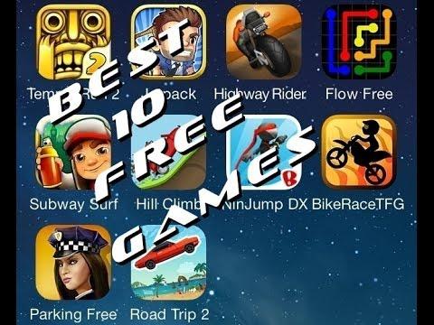 10 Лучших бесплатных игр из App Store