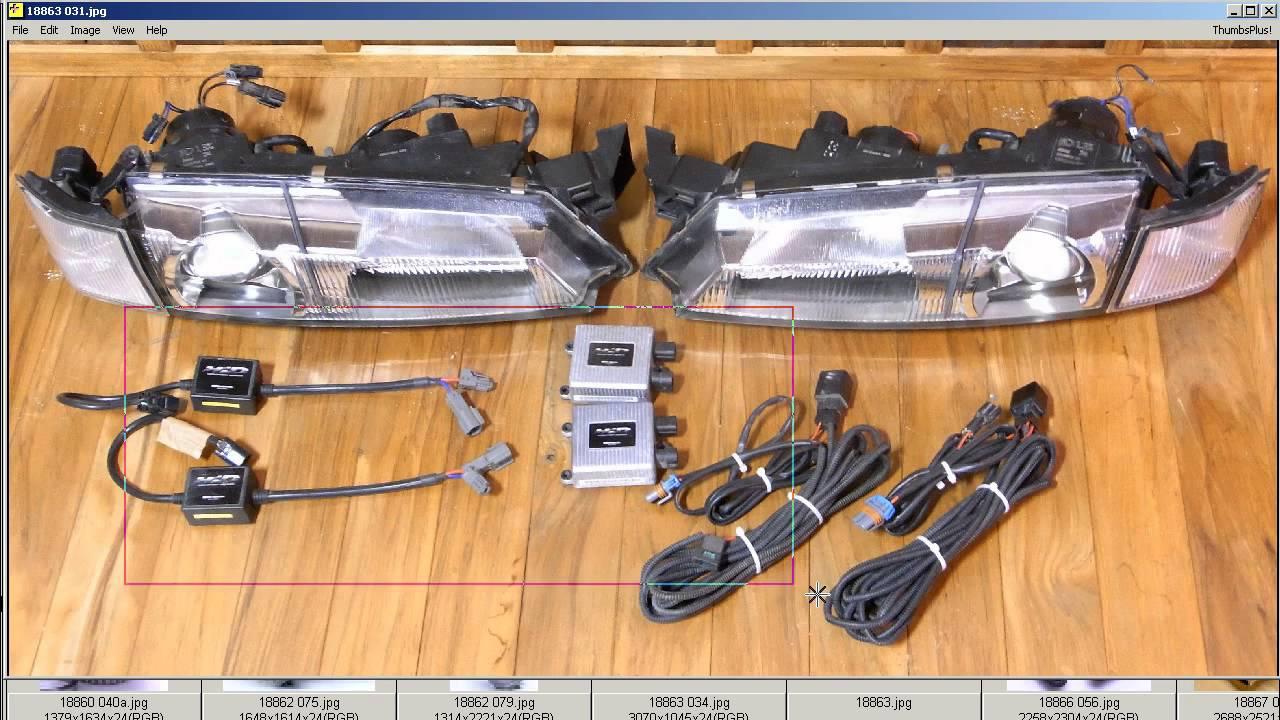S14 Hid Wiring Not Lossing Diagram Light Headlights Silvia Kouki S14a Xenon Kit Youtube Rh Com Water Temp Suzuki Swift