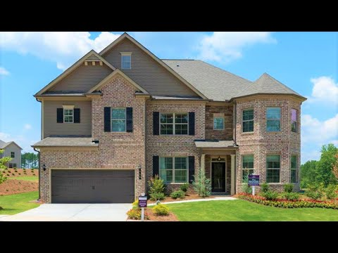 Decorated Model Home Tour, Dallas, GA I 6 Bdrms I 4 Baths I BP $307,990