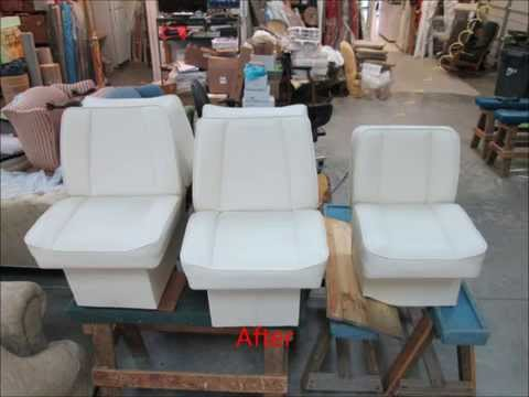 Boat Seats Upholstery by Joe's Upholstery, Va Beach, Va