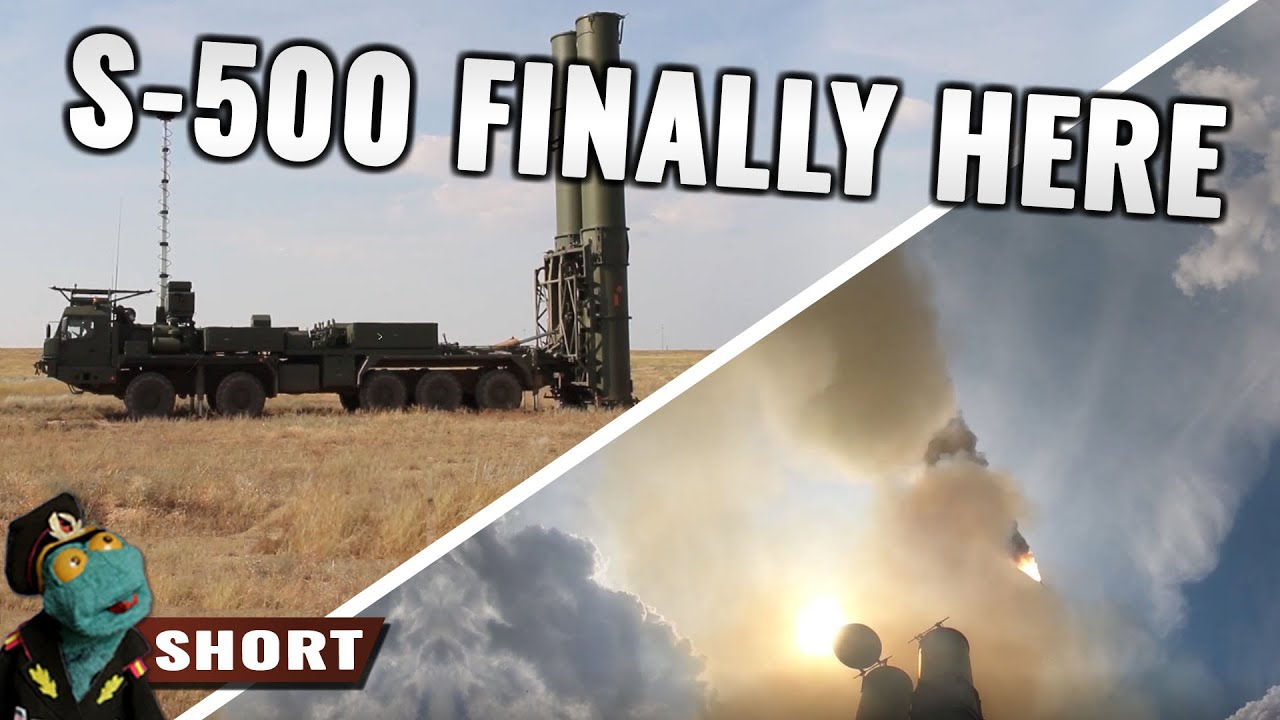 Russia just released first footage of S-500 SAM in action
